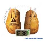 DIY Набір Годинник на картоплі