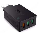 AUKEY Зарядний пристрій 3 USB Smart Quick