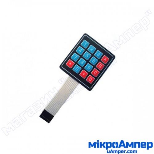 Матрична мембранна клавіатура 4х4