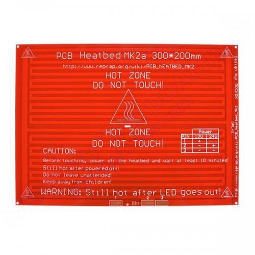 Нагрівальне дно MK2a 300х200 мм