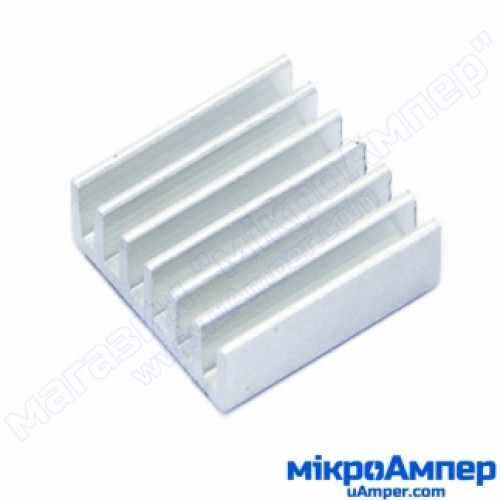 Алюмінієвий радіатор 14х14х5мм