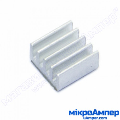 Алюмінієвий радіатор 9х9х5мм