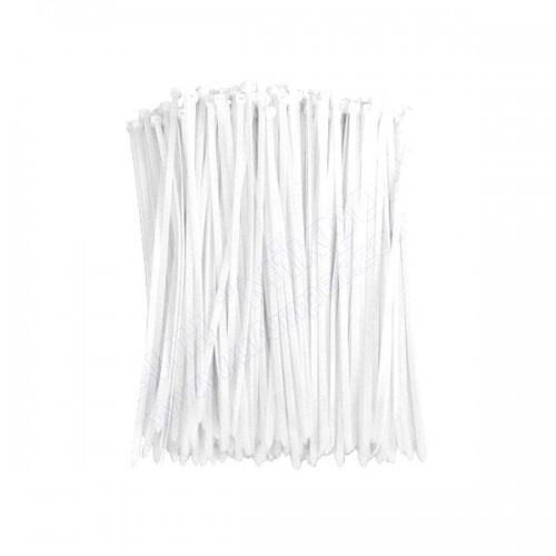 Хомути 3мм 100шт білі