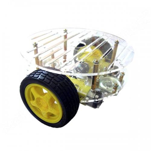 Кругла робоплатформа 2WD 4-колісна