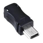 Штекер miniUSB в корпусі для кабеля
