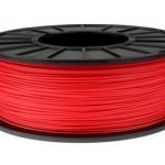 ABS+ пластик 0.5кг 1.75мм Червоний