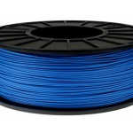 ABS+ пластик 0.5кг 1.75мм Синій
