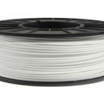 ABS+ пластик 0.75кг 1.75мм Білий