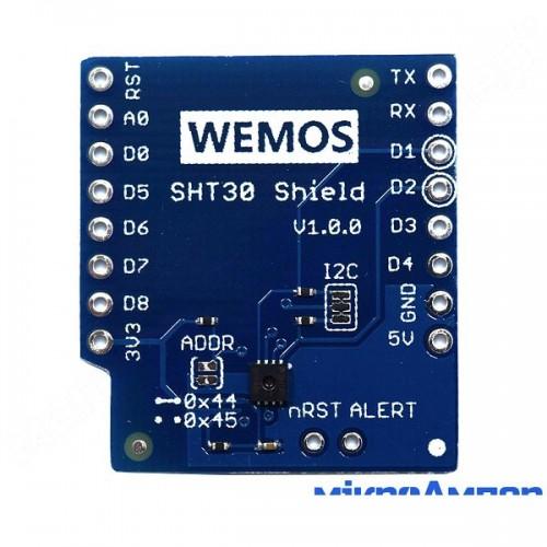 WeMos D1 mini SHT30