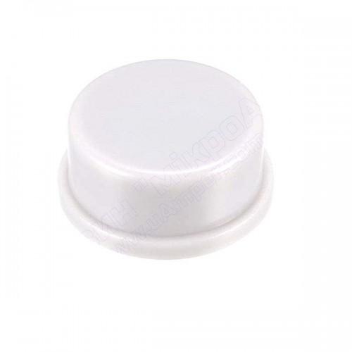 Ковпачок круглий 6мм білий