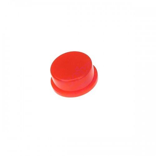 Ковпачок круглий 6мм червоний