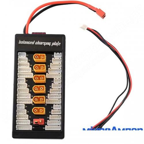 Адаптер паралельної зарядки акумуляторів XT60