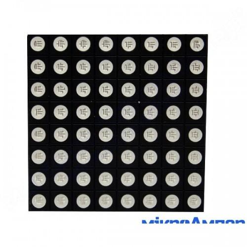Матриця світлодіодів 8х8