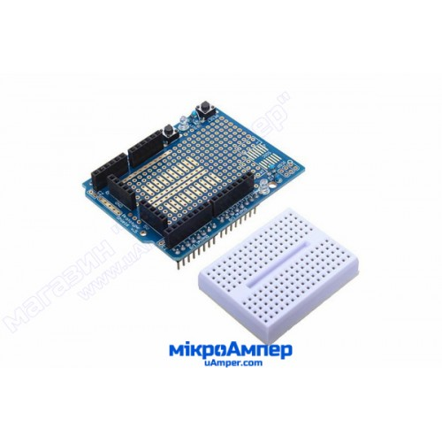 Arduino Prototype Shield з макетною платою