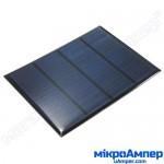 Сонячна панель 12В 1.2Вт