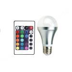 3W LED RGB лампа Е27
