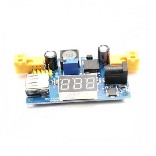 DC-DC конвертор вольтметр LM2596 USB