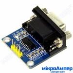 RS232-UART конвертор на MAX3232