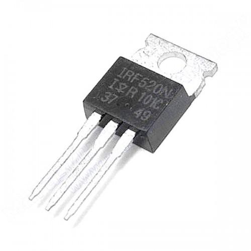 N-канальний MOSFET IRF520N (100V 9.7A )