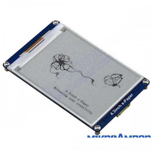 4.3 дюйми e-Paper модуль WaveShare