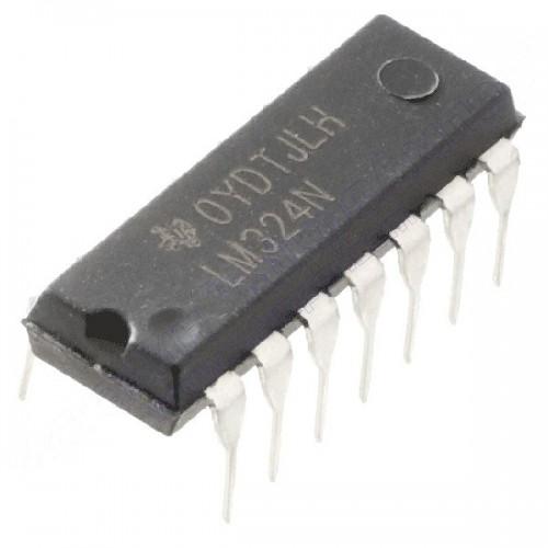 Операційний підсилювач LM324