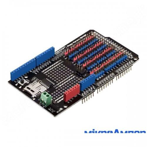 RobotDyn Плата розширення Mega Sensor SD