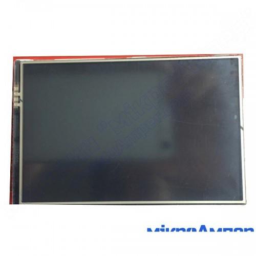 3.95 дюйми TFT touch екран для Arduino Mega