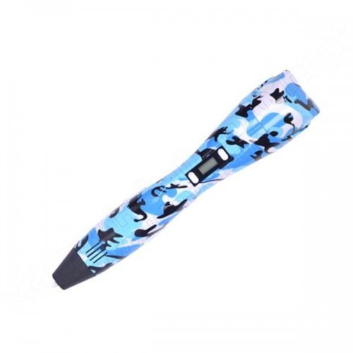 3D ручка з екраном Bapasco K3 Blue Camouflage
