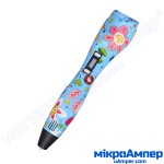 3D ручка з екраном Bapasco K3 Kids Flower