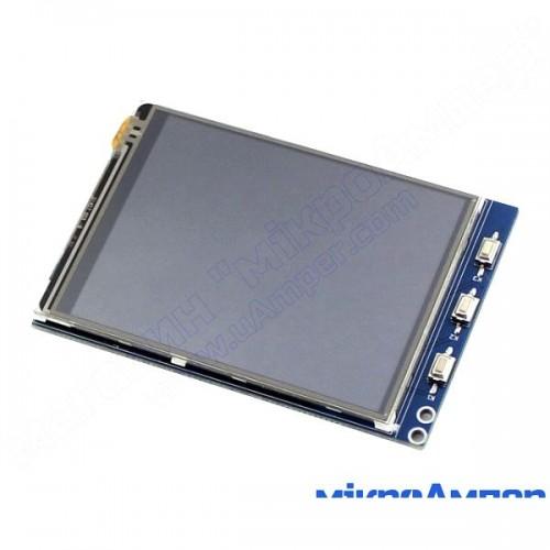 3.2 дюйми сенсорний екран LCD Waveshare