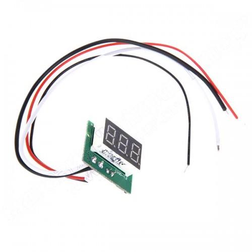 Амперметр 5А LED