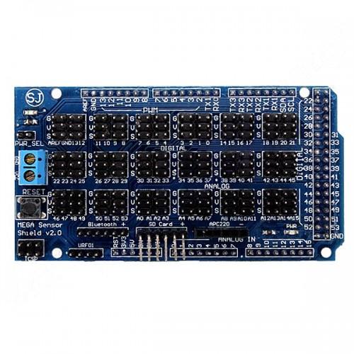 Шилд Arduino Mega Sensor