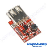 DC-DC USB step-up конвертор 5В 1A