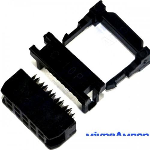 Конектори FC-10P 2.54мм