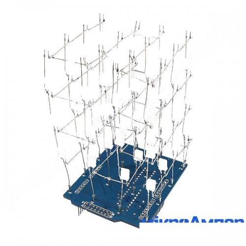 Набір DIY для LED-куба 4x4x4