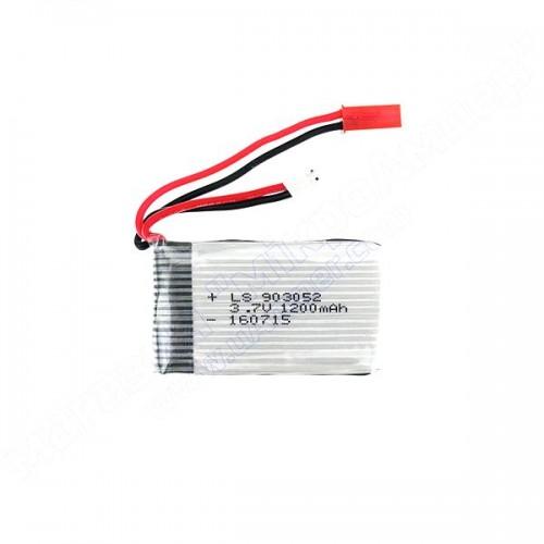 Акумулятор LiPo 3.7V 1200mah 25C