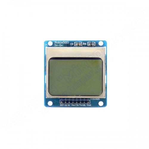 Nokia 5110 LCD модуль синій