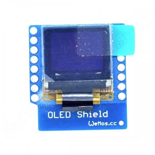 WeMos D1 mini Модуль екрана OLED 0.66