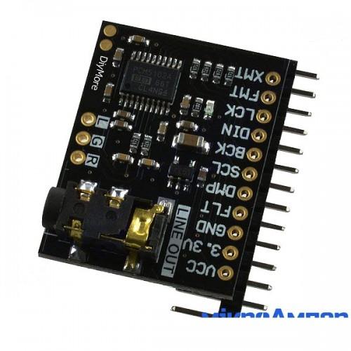 Звукова карта PCM5102
