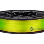 coPET флуоресцентний 0.5кг 1.75мм Жовтий