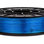 coPET флуоресцентний 0.5кг 1.75мм Синій