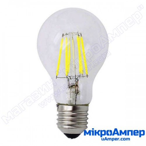 8W LED лампа декоративна E27